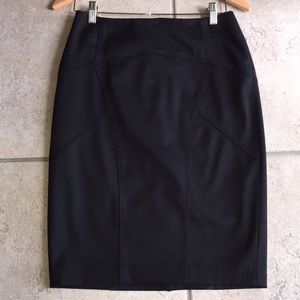 Limited Pencil Skirt w/ seamed accents
